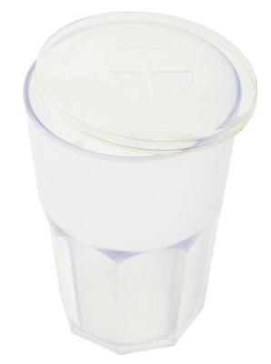 Bicchiere con coperchio come si chiama